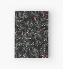 Wolfsrudel-Muster Notizbuch