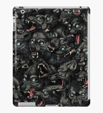 Wolfsrudel-Muster iPad-Hülle & Klebefolie
