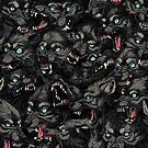 Wolfsrudel-Muster von freeminds