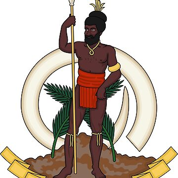 Coat of Arms of Republic of Vanuatu by PZAndrews