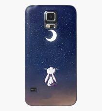 Funda/vinilo para Samsung Galaxy Moon Bunny