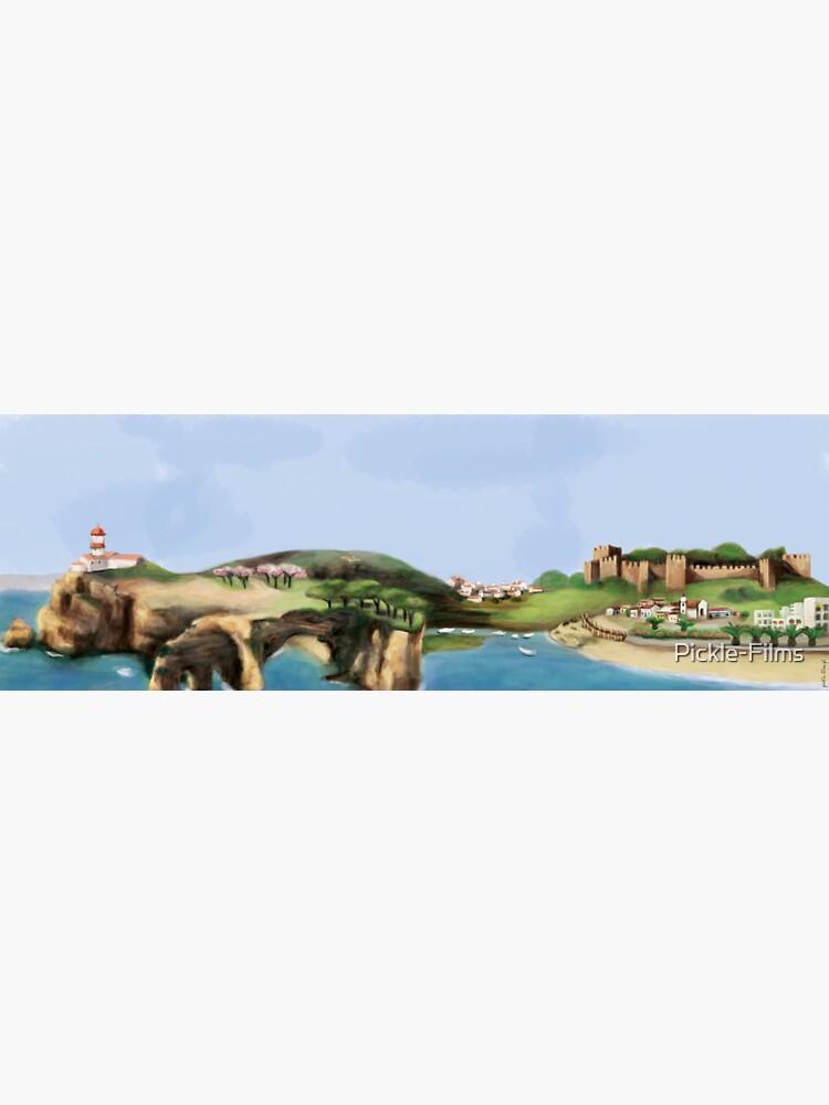 Algarve landscape by Pickle-Films