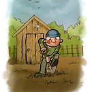 Farmer Giles by Ronnie Tucker