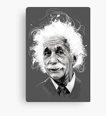 The Mind of Albert Einstein Canvas Print