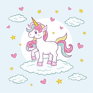 Baby Unicorn - Perfect For Children And Adults Alike by StedeBonnet