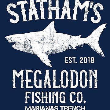 The Meg - Jason Statham - Megalodon Shark Fishing by IncognitoMode