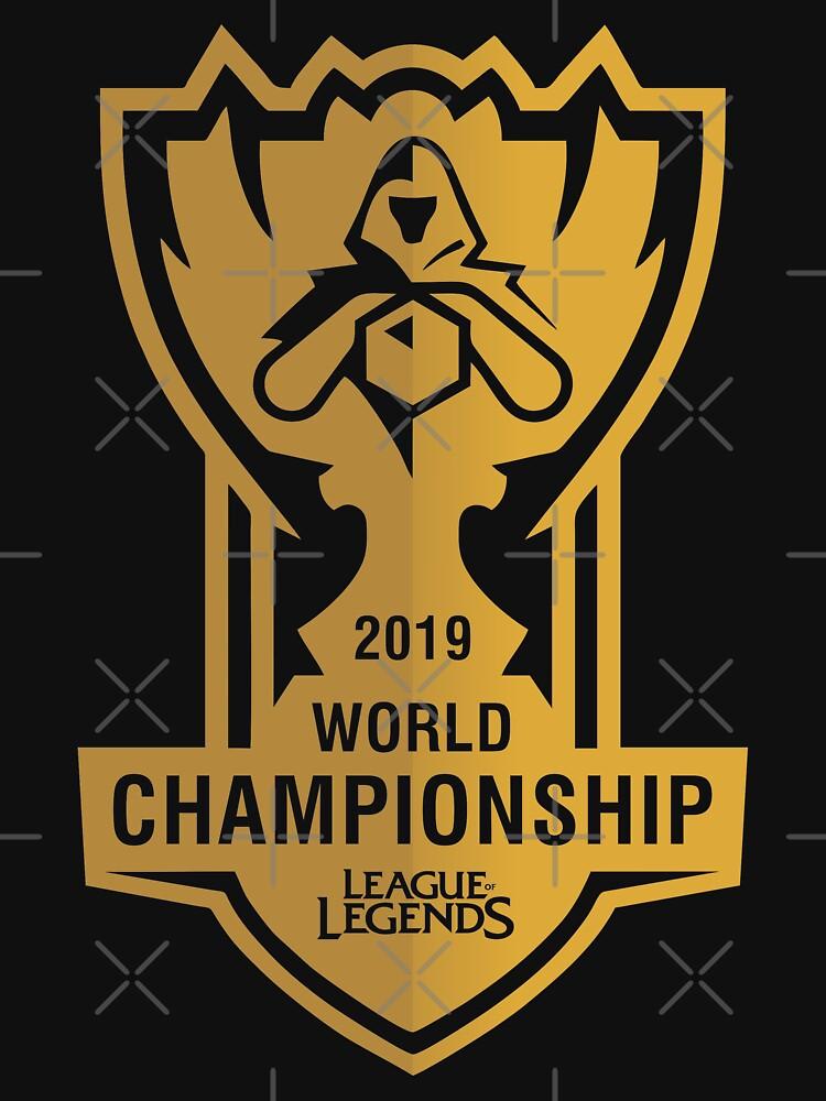 2019 LEAGUE OF LEGENDS WORLD CHAMPIONSHIP | Lightweight Hoodie