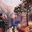 Autumn forest by Emma   Reznikova