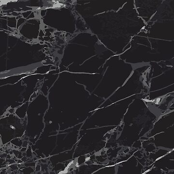 Gorgeous black marble effect by andreirose