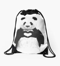 All you need is love Drawstring Bag