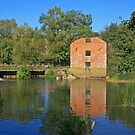 Stour Valley Way: Cutt Mill Reflections by RedHillDigital