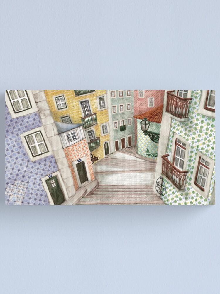 Alternate view of Lisboa Canvas Print