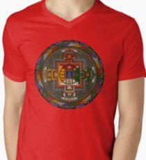 Mandala of Yamantaka Men's V-Neck T-Shirt