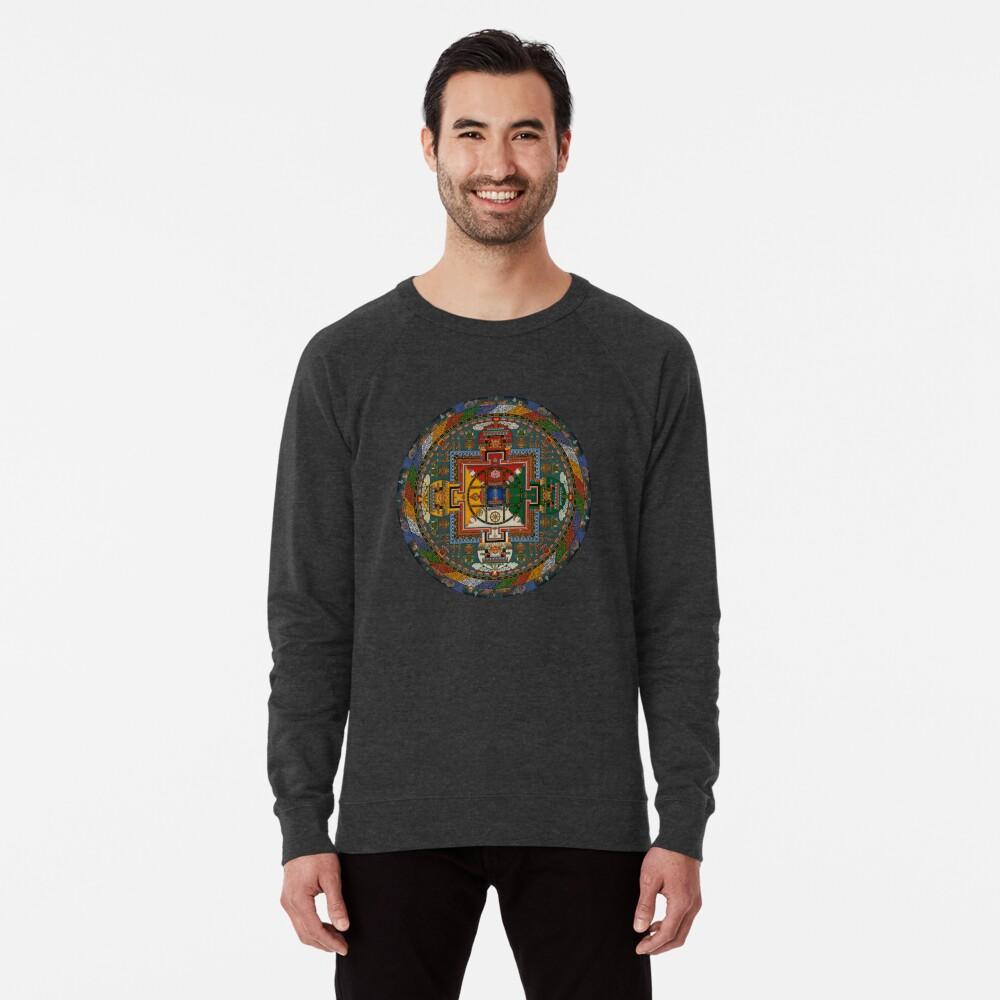 Mandala von Yamantaka Leichter Pullover