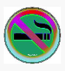 No Smoking ㊽ emoji Photographic Print