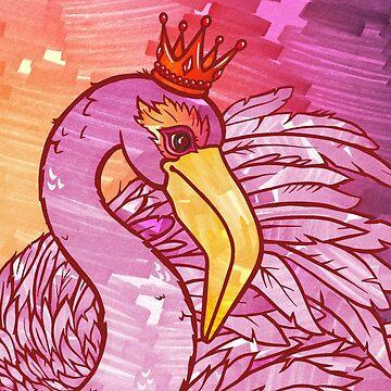 Trixie : The Flaming Flamingo  by PETAbstractA
