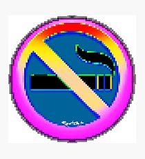 No Smoking ㊿  emoji Photographic Print