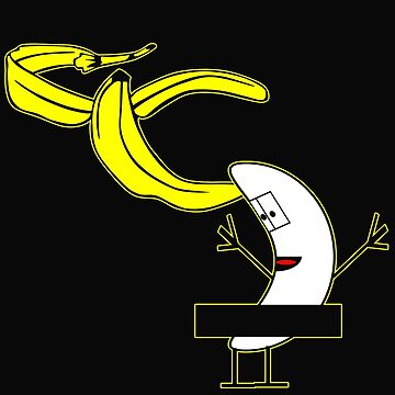Funny Banana Strip Show Gift by dtino