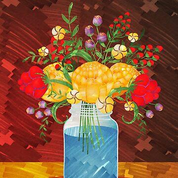 Autumn Bouquet  by PETAbstractA