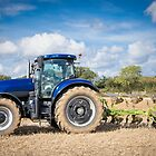 Tractor and Plough by JEZ22