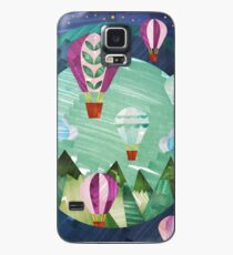 Air Balloons in the Sky  Case/Skin for Samsung Galaxy