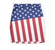 Abstract American flag Mini Skirt