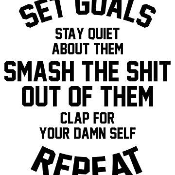 Set Goals by kjanedesigns