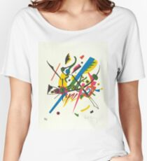 Vasily Kandinsky w/ Signature | Small Worlds I | On view at The Met Gallery 911 Women's Relaxed Fit T-Shirt