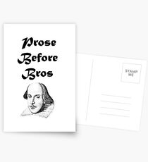 Prose Before Bros Postcards