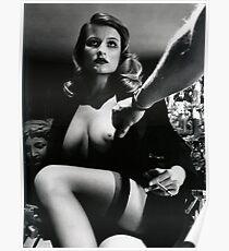 Póster Helmut Newton-Playboy 1980-Fotografía