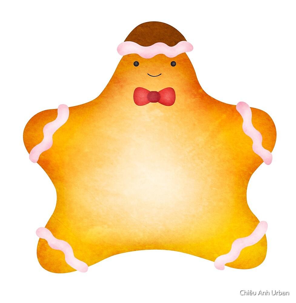 Holiday Starfish Gingerbread by Chiêu Anh Urban