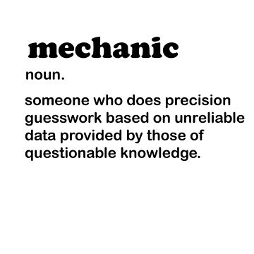 Mechanic meaning by Seemushk