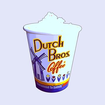 Relax Cup Dutch bros coffee by MimieTrouvetou