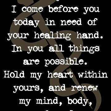 Renew my mind, body, and soul | Healing Prayer by ctaylorscs