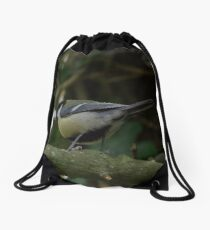 Great Tit Drawstring Bag