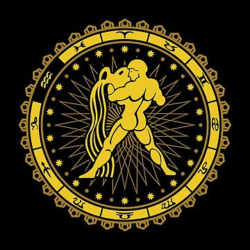 Aquarius Zodiac Sign - Horoscope Symbol by mchanfitness