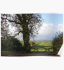 Southcoombe, Nr Crediton, Devon Poster