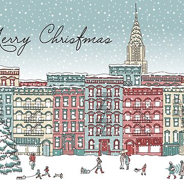 Christmas in New York by franzi