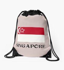 Flagge von Singapur Rucksackbeutel