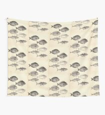 The fishes of India by Francis Day 046 - Naseus Wall Tapestry