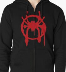 Into the Spider-Verse Zipped Hoodie