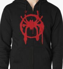 Into the Spider-Verse Hoodie mit Reißverschluss