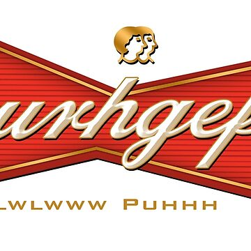 Burhgefser Sbubby Beer Logo by RyanJGill
