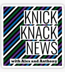 Knick Knack News Logo - Color Sticker