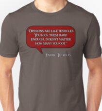 Varric Tethras Quote Unisex T-Shirt