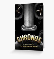 Chronos Greeting Card
