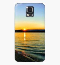 Port Orchard Summer Sunset Case/Skin for Samsung Galaxy