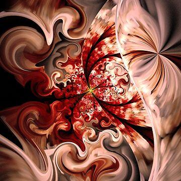 Fiery Red Hair by NismahShargawi