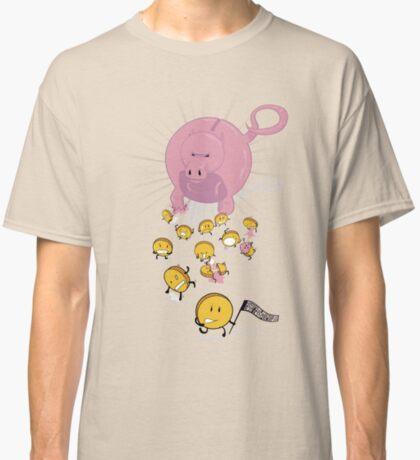 Piggy Bankzilla - Curb Your Coin Compulsion Classic T-Shirt