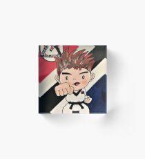 Jiu-Jitsu Boy Acrylic Block